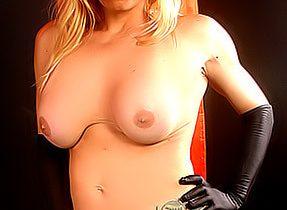 Alesea In Her Leopard Panties