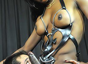 Dominant Black Penis T-Girl