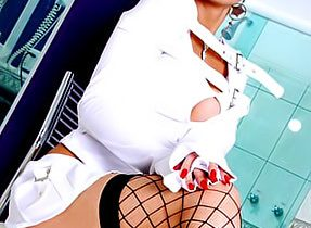 Femboy Is Inviting In White