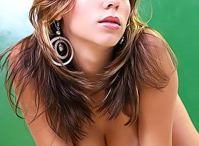 Feminine T-Girl Model