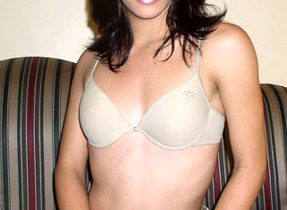 Flat Chested Solo Transexual Babe