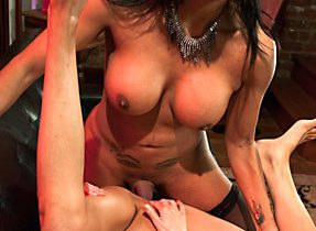 Girl Squirts Riding Femboy Tool