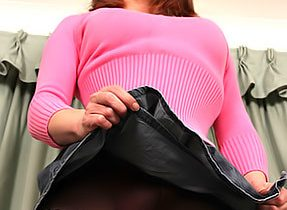 Ladyboy In A Pink Sweater