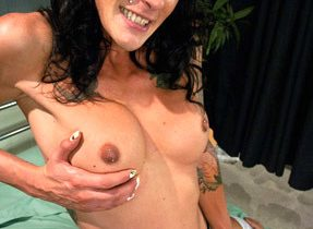 Mature Shemale Desires Dominating Sextoy Boy