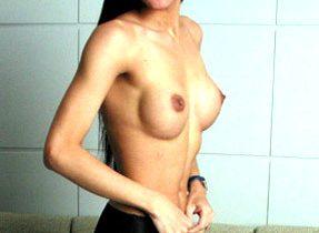 Perky Breasts On Thai TGirl
