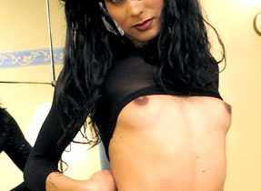Pretty Femboy In Pigtails