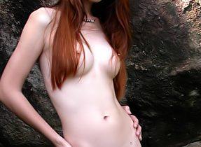 Skinny Post Operation Transexual