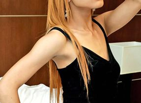 Slim Solo Transexual Striptease
