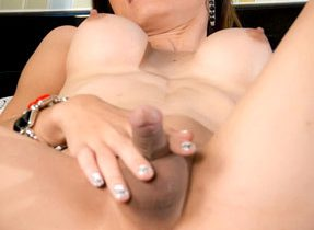 Solo Food And Dildo Play
