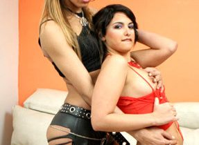 T-Girl And Girl Time