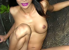 T-Girl In The Forest