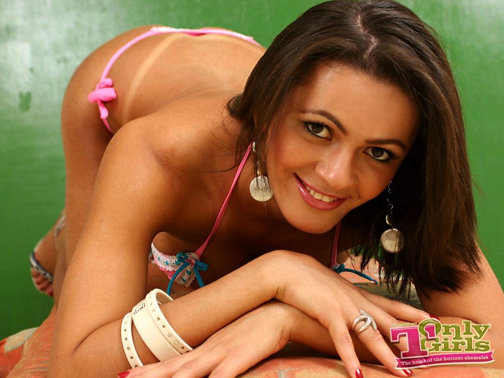 T-Girl Tit Model