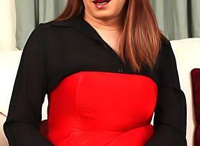 TGirl In Red Skirt